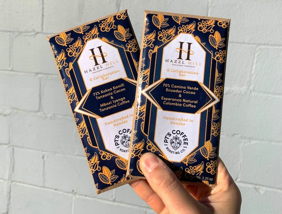 Hazel Hill Collaboration Chocolate Bars