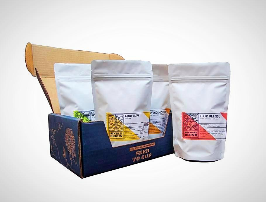 PT's Coffee Sample Box