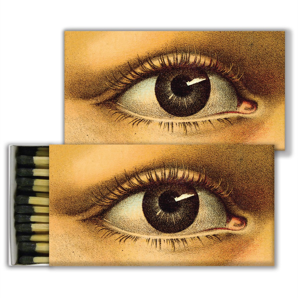 John Derian Eye- Black Matchboxes