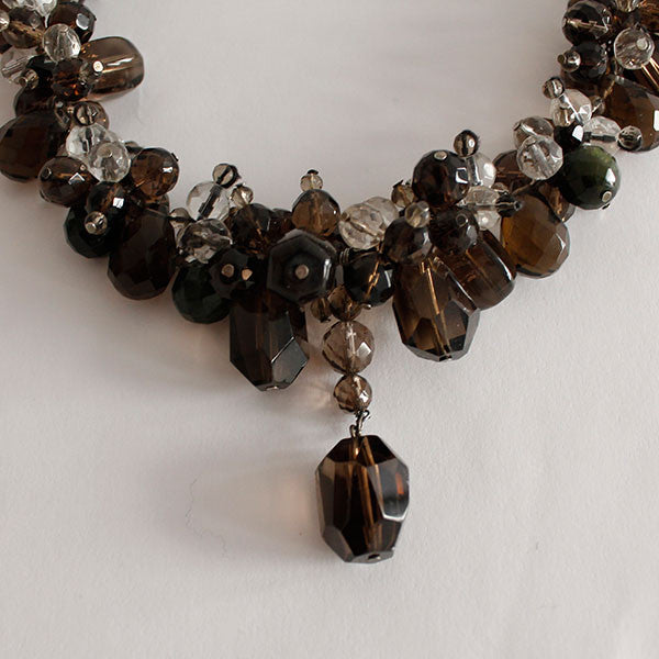 Cut Crystal Necklace