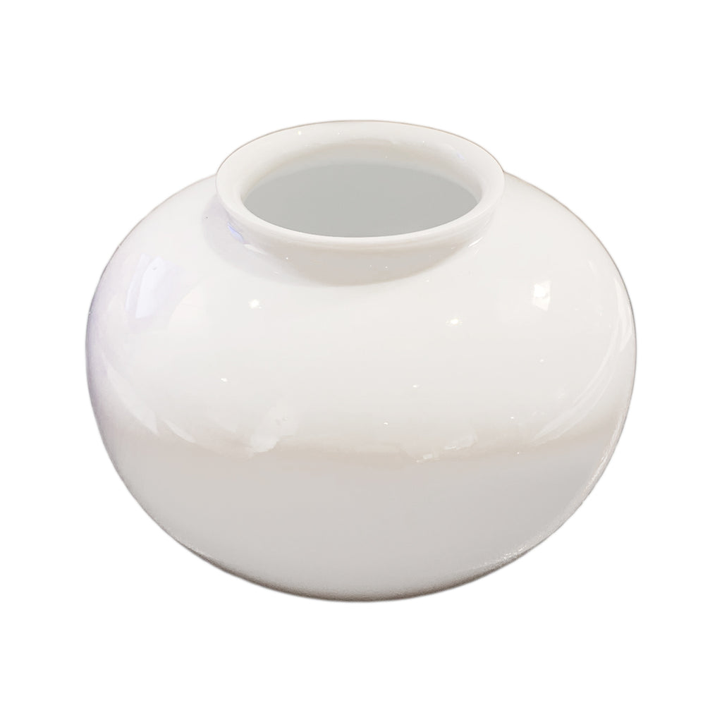 White Apple Mini Vase