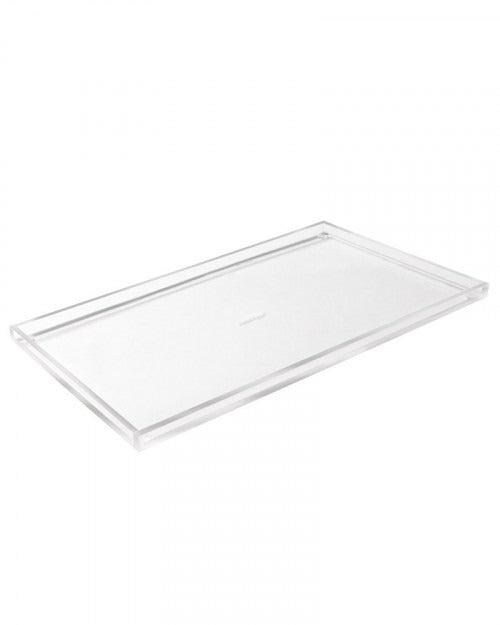 Clear Rectangular Acrylic Tray