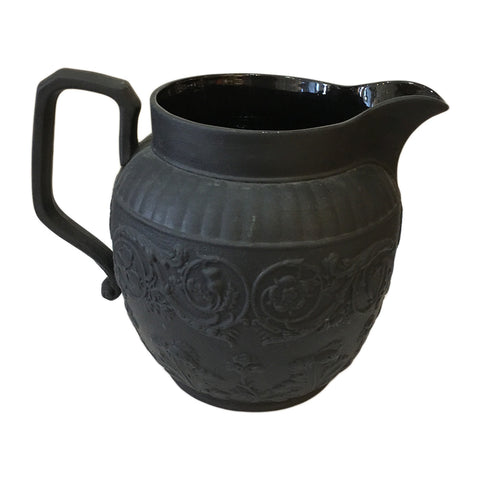 Wedgewood Black Basalt Pitcher