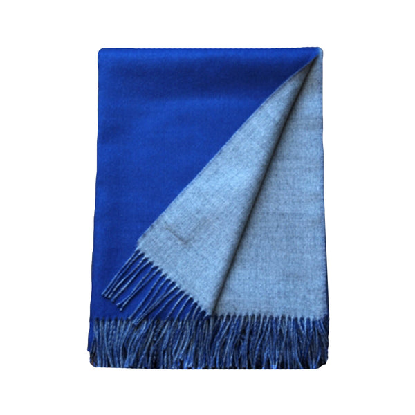 Reversible Baby Alpaca Throws