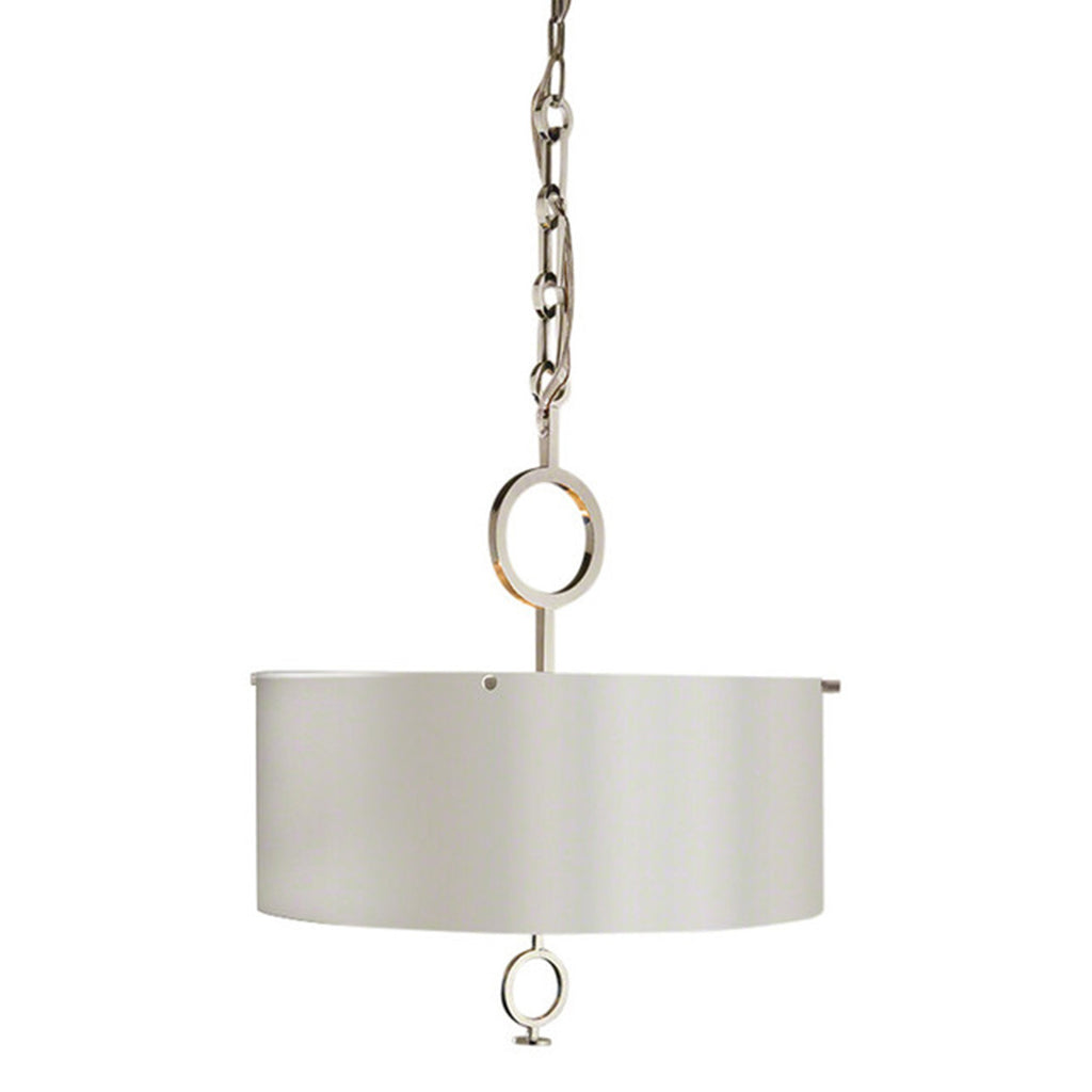 Chrome O-Pendant Chandelier