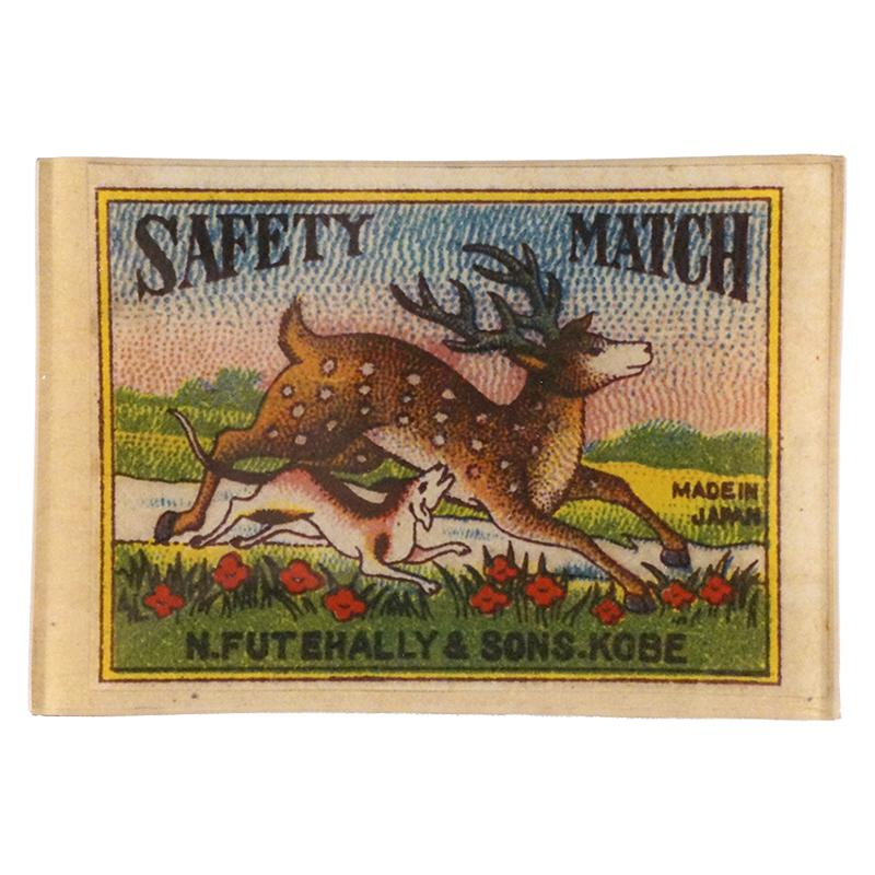 John Derian Deer and Dog Safety Matches Tray