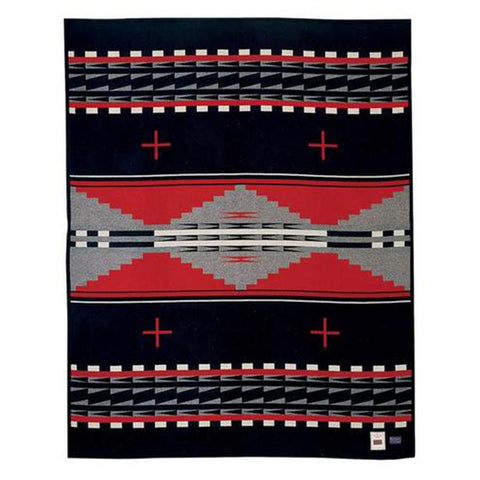 Pendleton Earth Black Twin Blanket