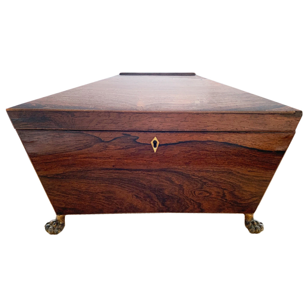 Rosewood English Regency Work Box