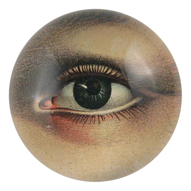 John Derian Eye Left Dome Paperweight