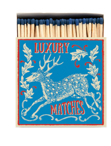 Festive deer luxury match add a pop of colour to any surface.