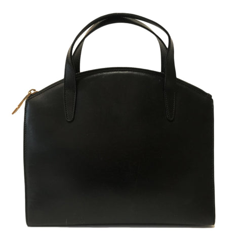 Vintage Gucci Black Leather Handbag