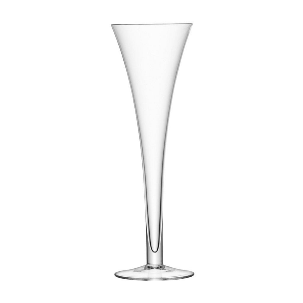 Pair of Hollow Stem Champagne Flutes