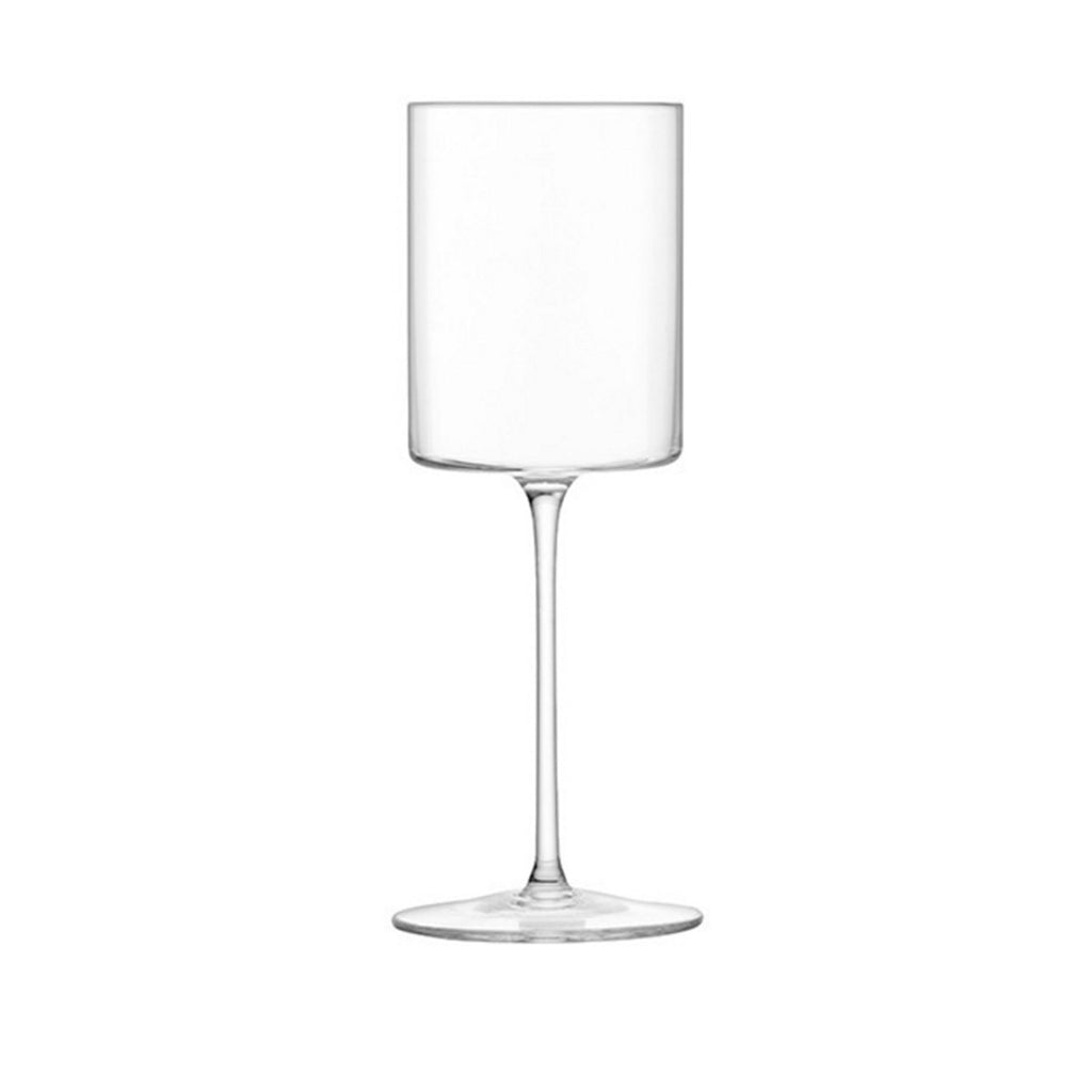 Set of Four Otis White Wine Glasses