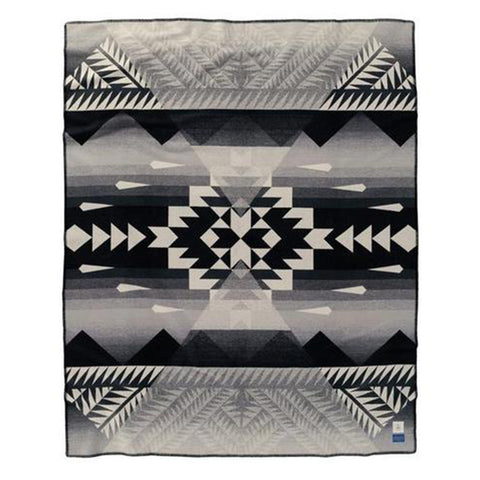 Pendleton Nike N7 Black/Ivory Twin Blanket