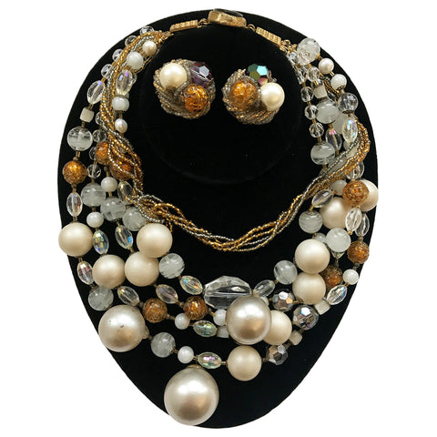 Ornello Necklace And Earrings