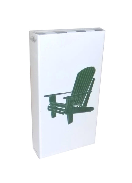 Green Adirondack Chair Match Box