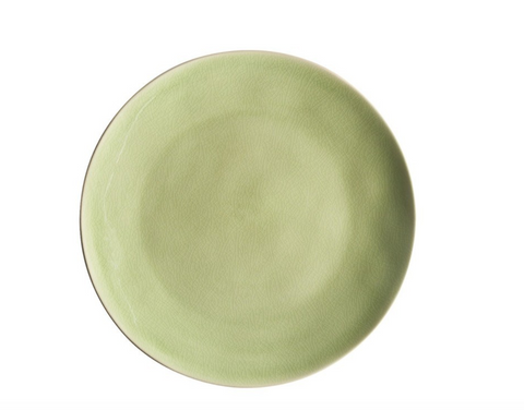Christian Tortu's fine tableware is made of stoneware. Oven, freezer, dishwasher, and microwave safe.