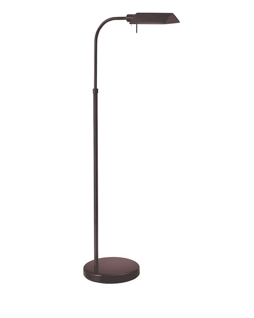 Black Pharmacy Tent Floor Lamp