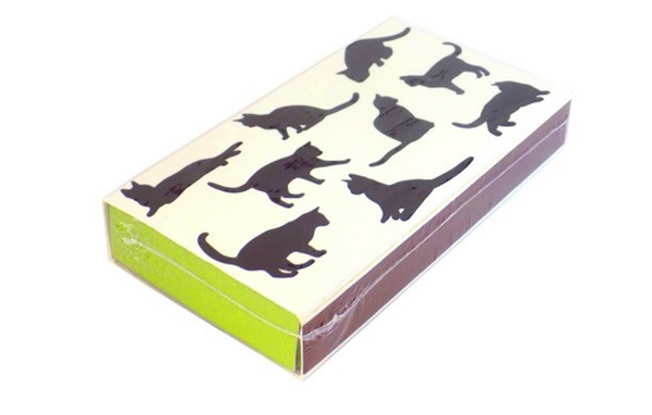 Cats Print Embossed Match Box