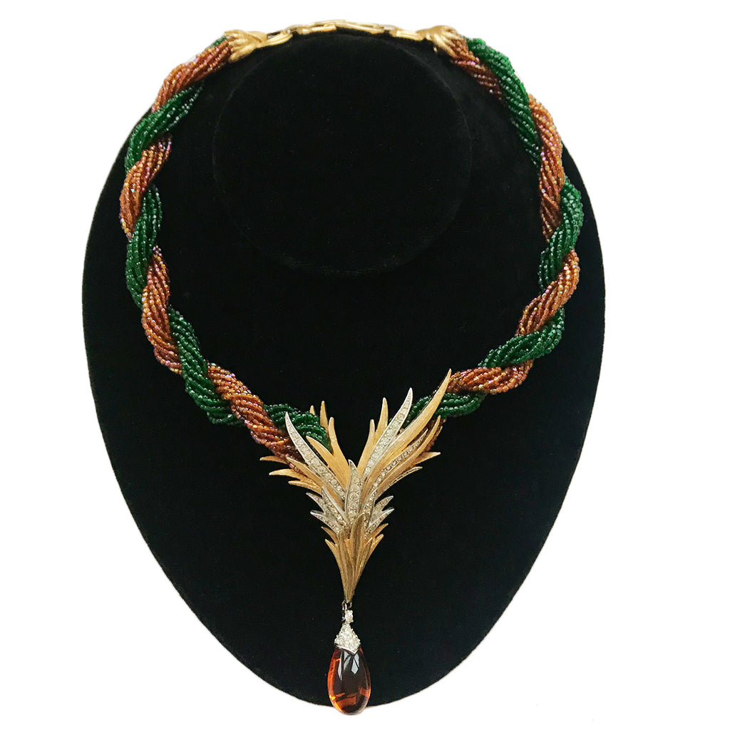 Marcel Boucher Multi Strand Necklace