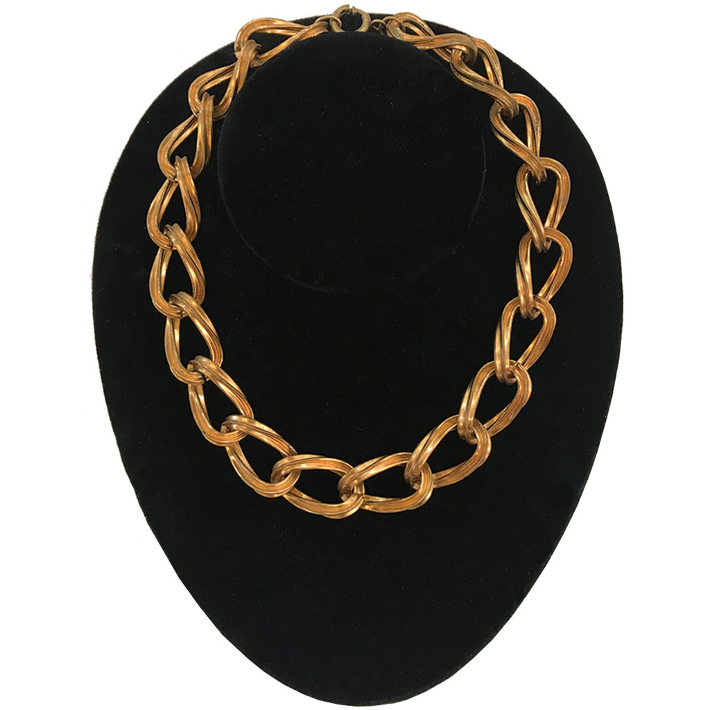 Single Chain Link Necklace
