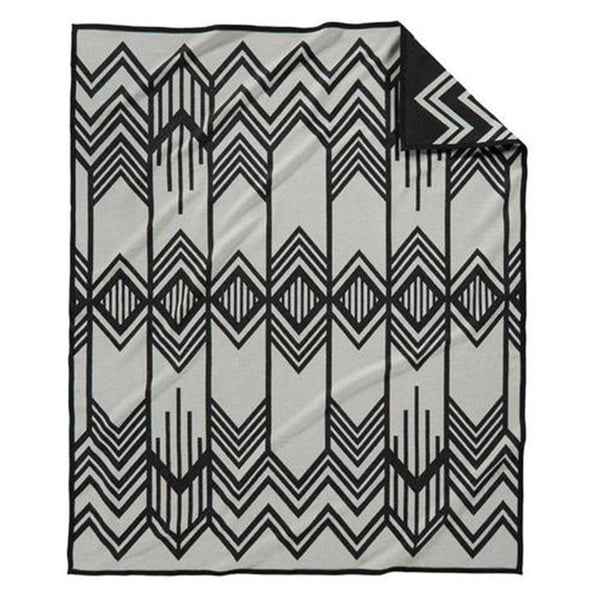 Pendleton Black Twin Skywalkers Blanket