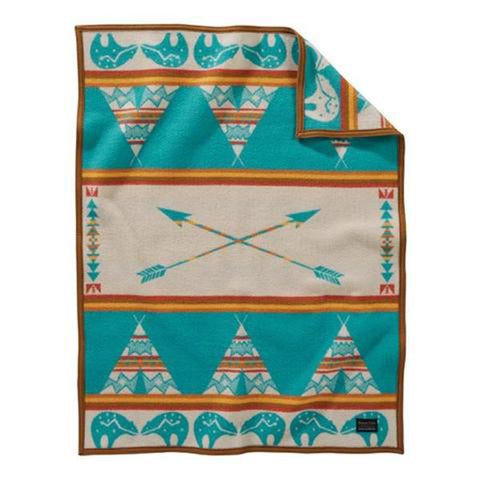 Pendleton Star Guardian Turquoise Kids Blanket