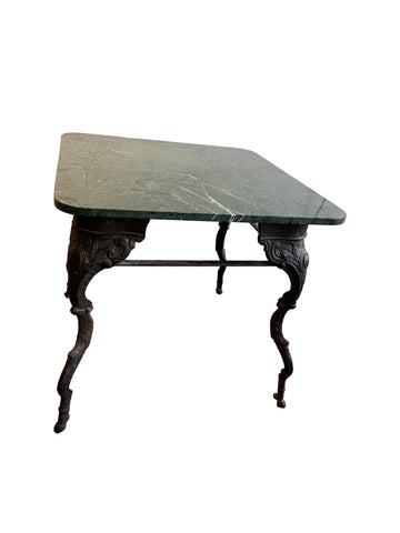 Marble and Iron Table