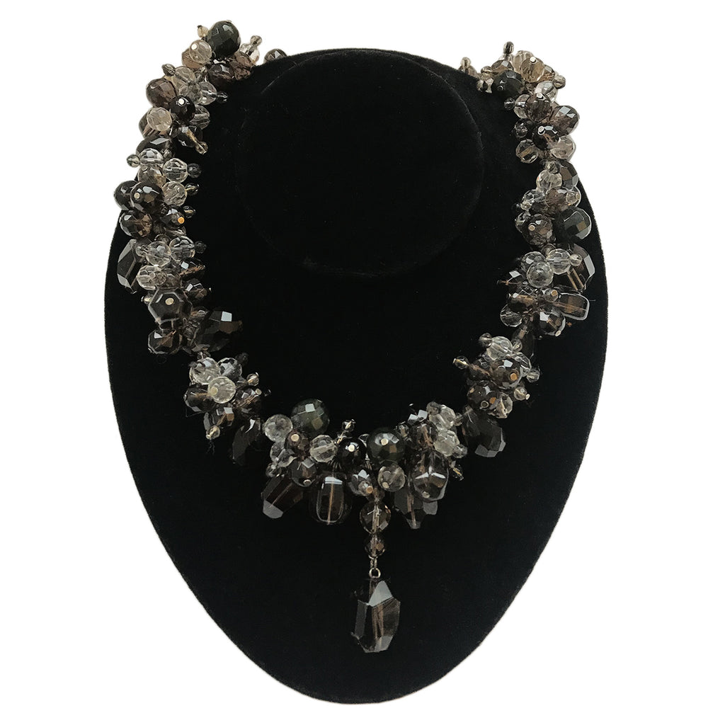 Vintage Cut Crystal Necklace