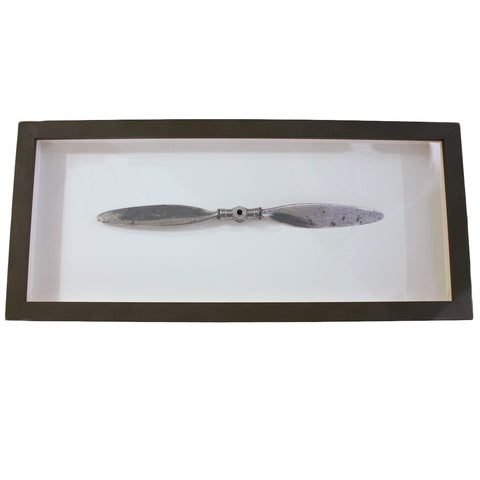 Framed Metal Propeller