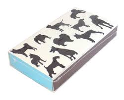 Dogs Print Match Box