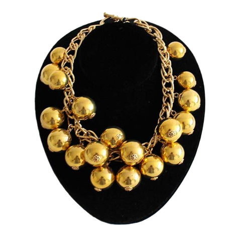 French Gold Tone Necklace