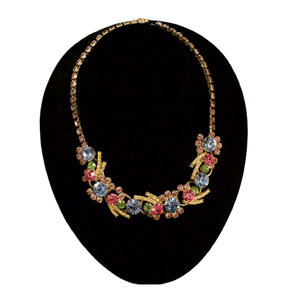 "Vintage ""Juliana"" Rhinestone Necklace"