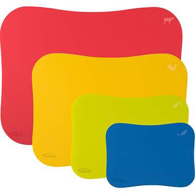 Set of 4 Wave Cutting Mats