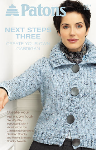 Patons Next Steps Cardigan #3