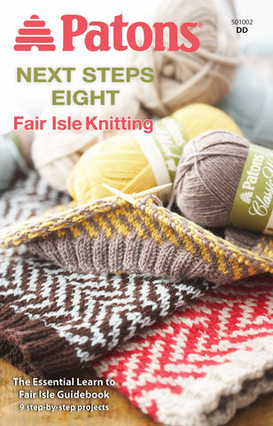 Patons Next Steps Fair Isle Knitting #8