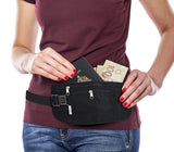 Waist security money belt