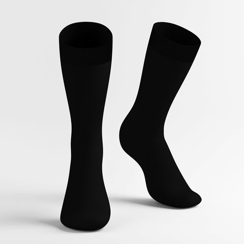 Knee compression socks