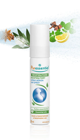 RESPIRATORY AIR SPRAY WITH 19 ESSENTIAL OILS // gift