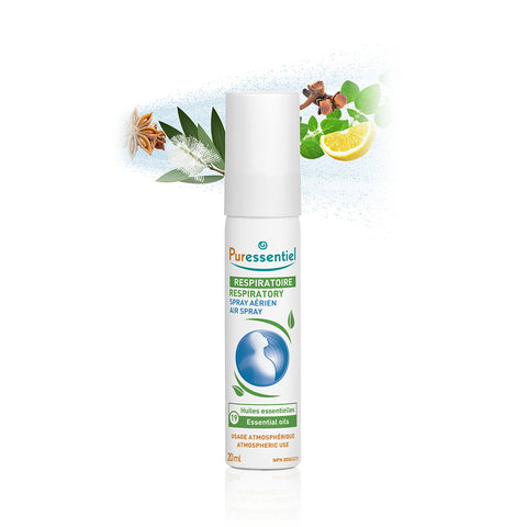 RESPIRATORY AIR SPRAY WITH 19 ESSENTIAL OILS