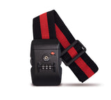 Luggage strap TSA combination lock