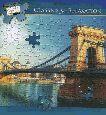 CD/PUZZLE CLASSICS FOR RELAXATION