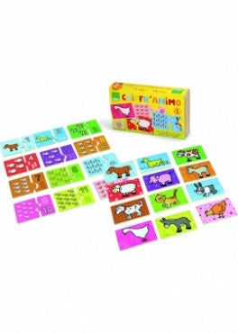 PUZZLE DOMINO ANIMALS