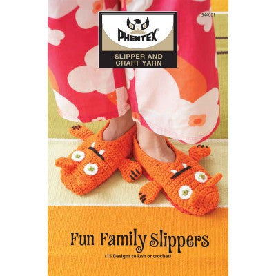 "Slipper & Craft ""Fun Family Slippers"" by Phentex"