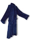 Mink Luxury Robe Navy