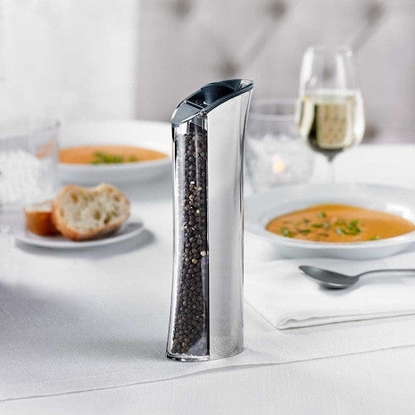 Graviti Plus Chrome Pepper Mill