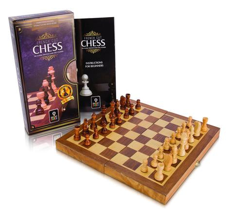 French Cut Chess Set