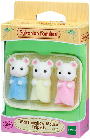Marshmallow Mouse Triplet
