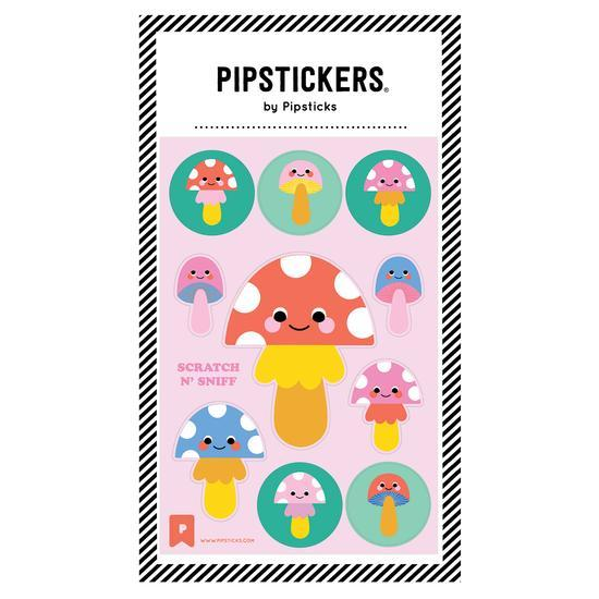 Fun Guys Scratch and Sniff Pipstickers