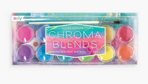 Chroma Blends Pearlescent Watercolor Set